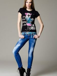 Jeansy Model 000056 Blue