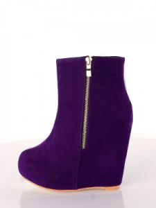 Botki Model 2012-78-3 Purple
